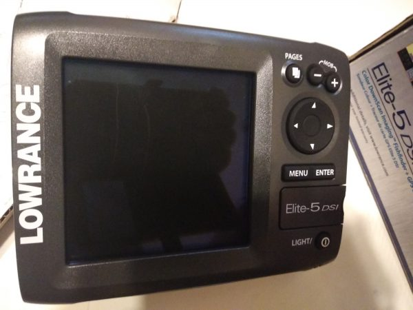 Lowrance Elite 5 DSI цветной эхолот картплоттер