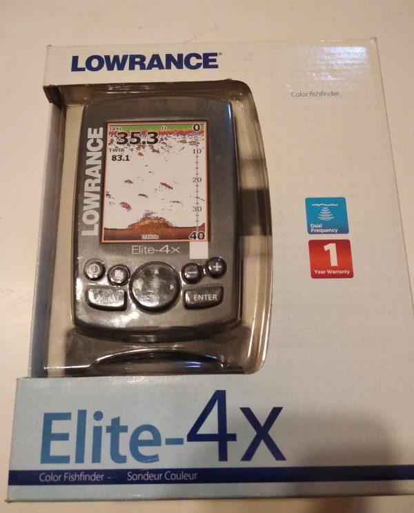 Lowrance Elite 4X цветной эхолот