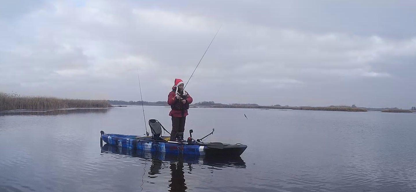 Каяк для рыбалки Лион