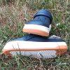 Крокс Crocband full force clog Slate Синие белая с оранжевым подошва 5064